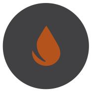 Orange Water Drop