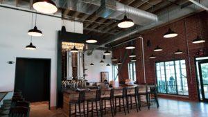 inside of beer brewery